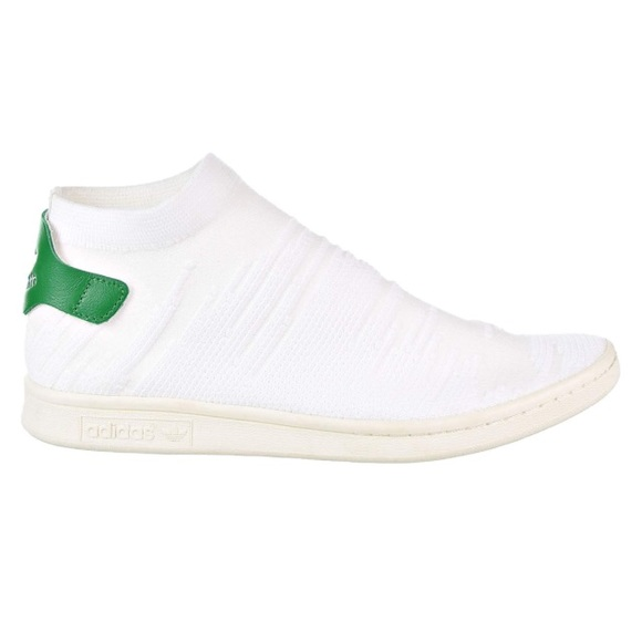 13c43af9f2e19 adidas Shoes | Stan Smith Sock White Green Sneakers Unisex | Poshmark